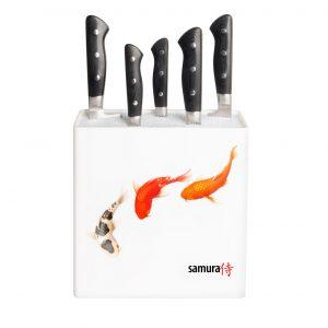 Подставка универсальная для ножей Samura Hypercube KBH-101F/К