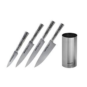 Набор из 4-х ножей и подставки Samura Bamboo SBA-05/K