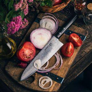 Шеф нож Samura 67 Damascus SD67-0085М/К
